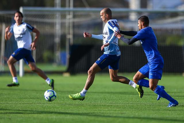 Treino Grêmio 01/07/19