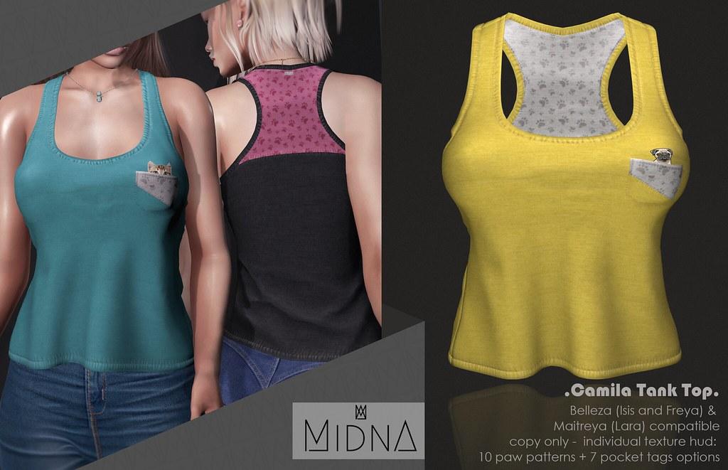Midna – Camila Tank Top