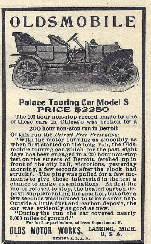 1906 Oldsmobile Touring Car Model S