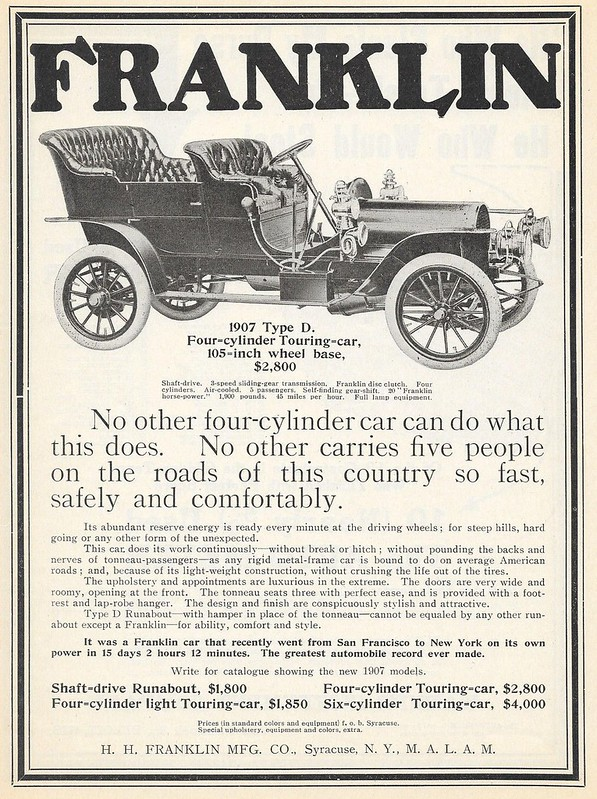 1907 Franklin Type D
