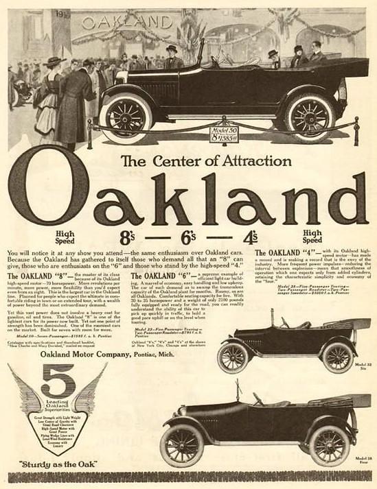 1916 Oakland