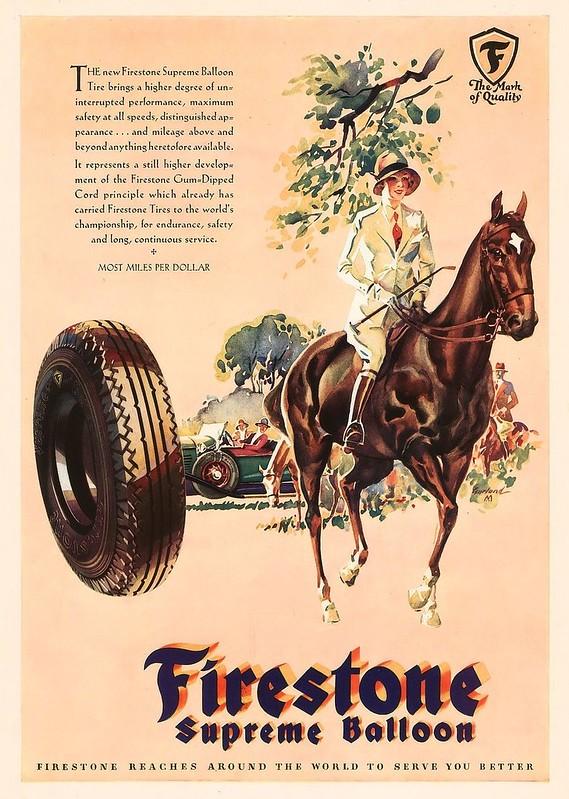 Firestone Supreme Balloon 1929