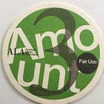 Four factors of fair it use coasters. Copyright