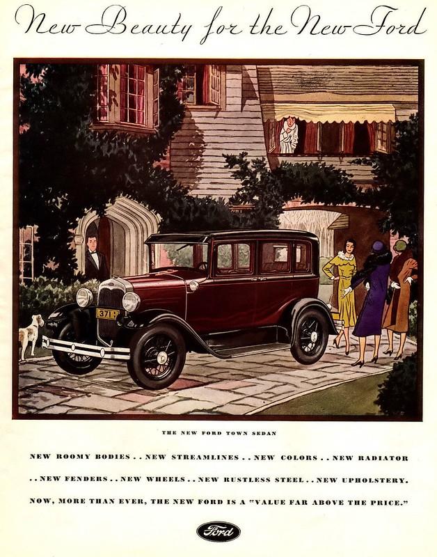 1930 Ford Town Sedan
