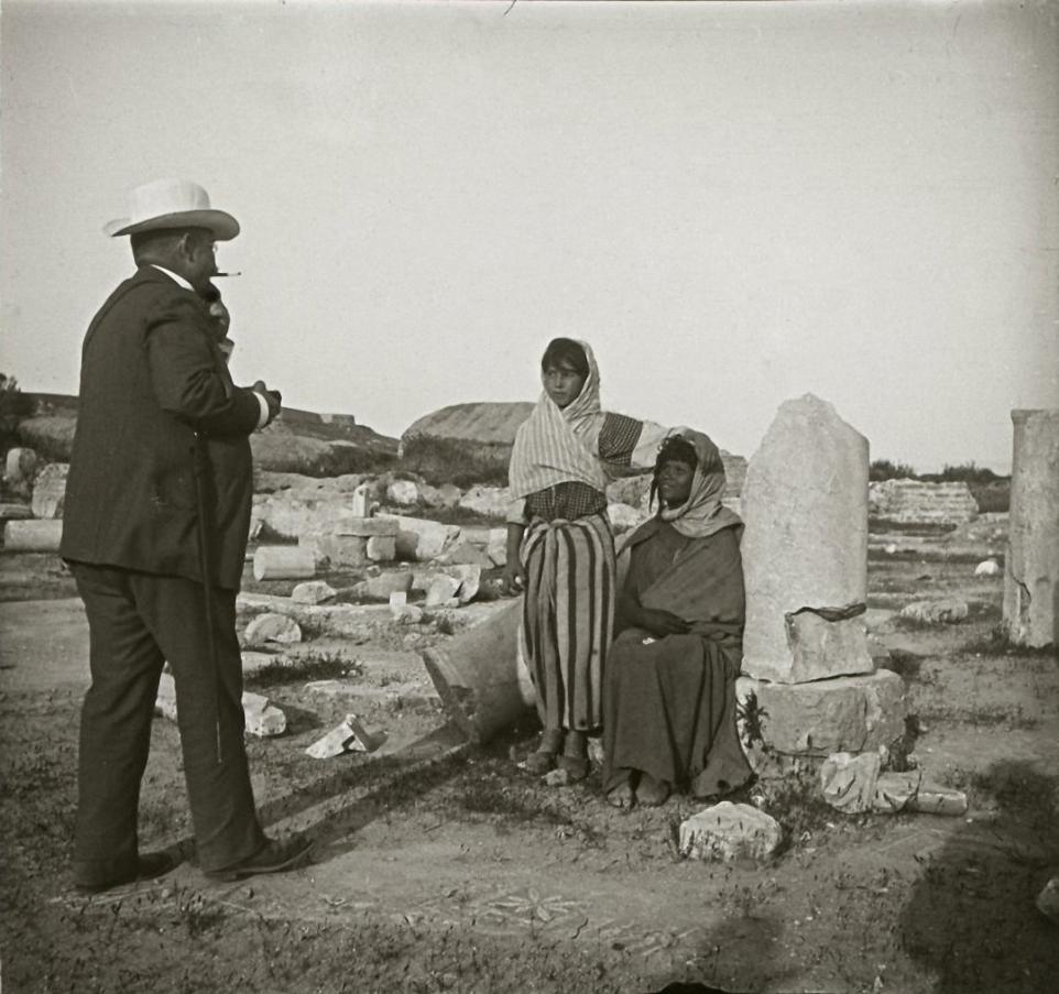 1903. Тунис. На развалинах древнего Карфагена