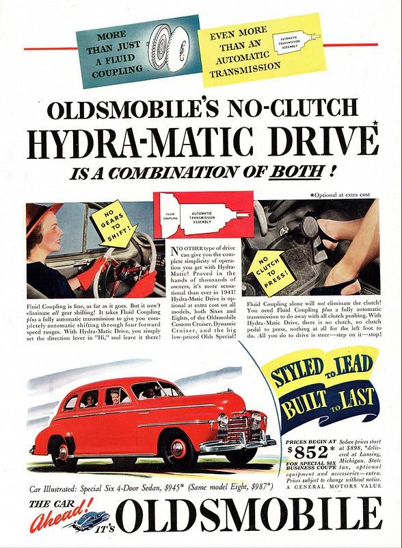 1941 Oldsmobile Special Six 4-Door Sedan
