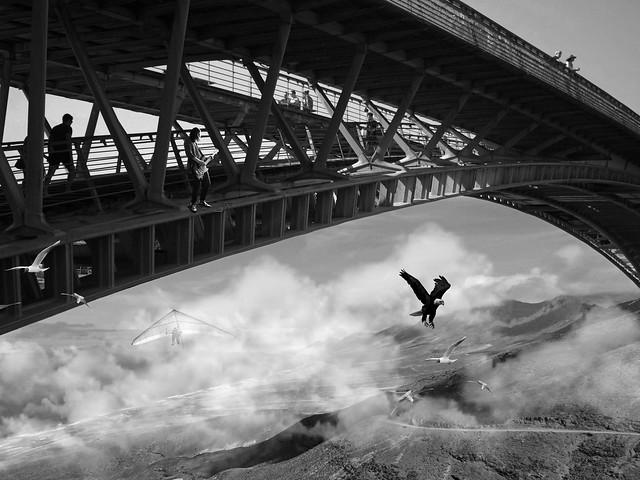 THE HIGHEST ROCK'N'ROLL BRIDGE IN THE  WORLD