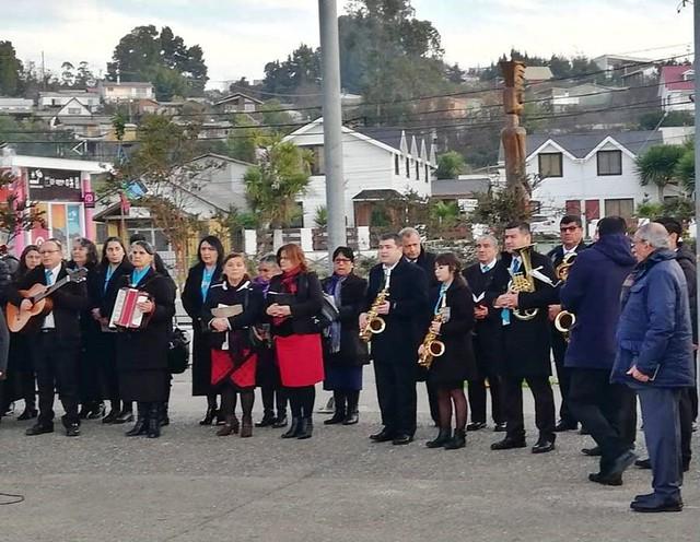 Iglesia de Dichato recibe  visita del Coro oficial de Coelemu