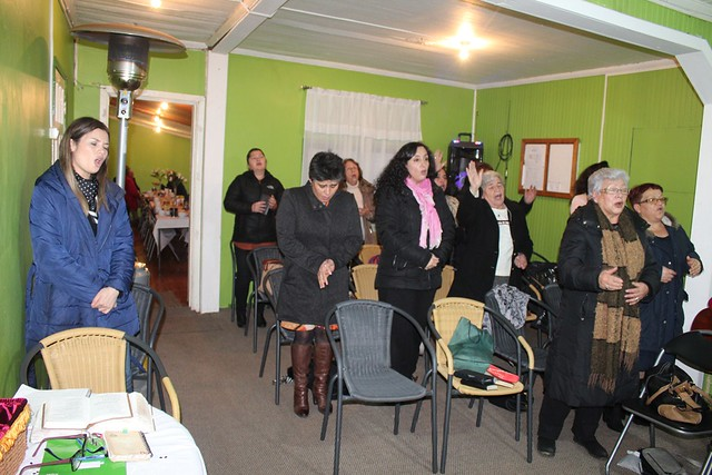 Bendecida Clase de Dorcas en Talcahuano