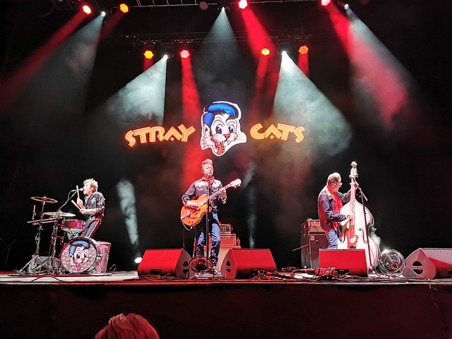 Stray Cats live in Amsterdam 2019-07-01 Afas Live