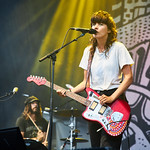 Fri, 28/06/2019 - 7:34pm - Courtney Barnett plays Wilco's Solid Sound Festival at Mass MoCA in North Adams, MA. 6/28/19 Photo by Gus Philippas/WFUV