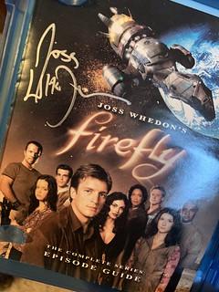 Joss Whedon's autograph