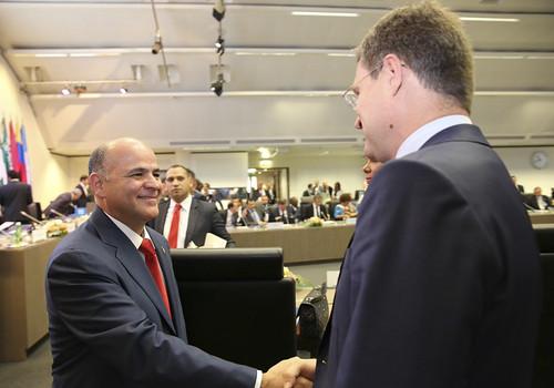 Ministro Quevedo arriba a Viena para presidir la 176 Conferencia Ministerial de la OPEP