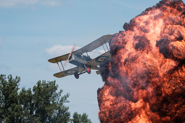 Tankové dni Laugarício 2019 - WWI air war