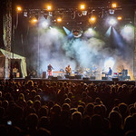 Fri, 28/06/2019 - 9:42pm - Wilco's Solid Sound Festival at Mass MoCA, fan karaoke set on 6/28/19, broadcast live on WFUV. Photo by Gus Philippas/WFUV.