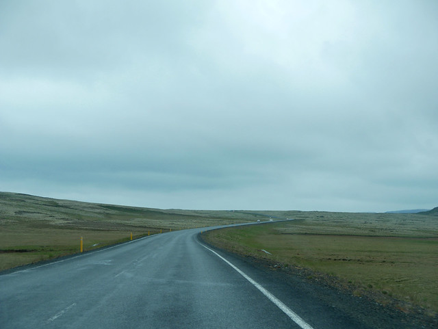 On the road - somewhere between Laugarvatn and Þingvellir
