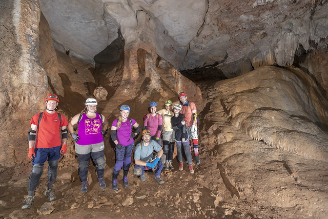 Cavers, Newman Cave, White County, Tennessee