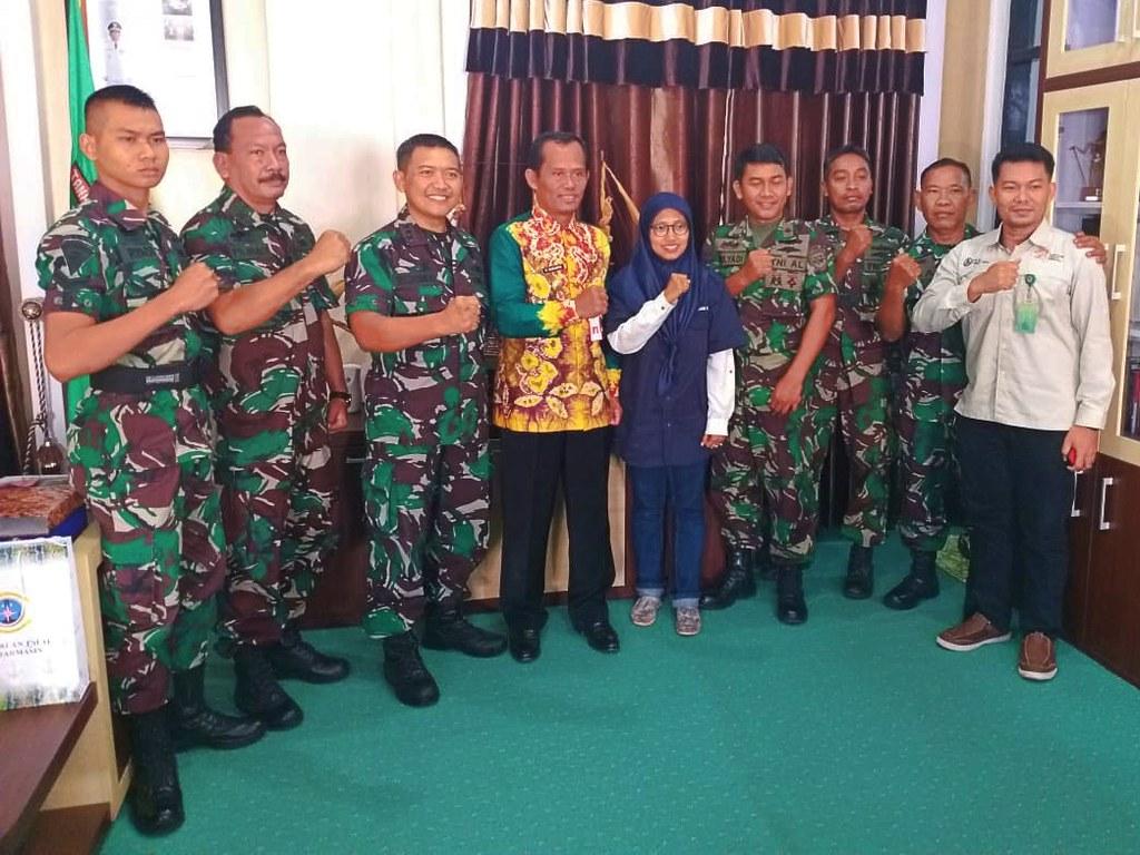TWA Pelaihari Dukung Pencadangan Latihan TNI AL (03)