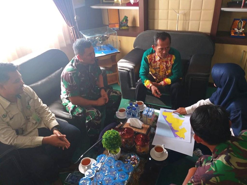 TWA Pelaihari Dukung Pencadangan Latihan TNI AL (02)