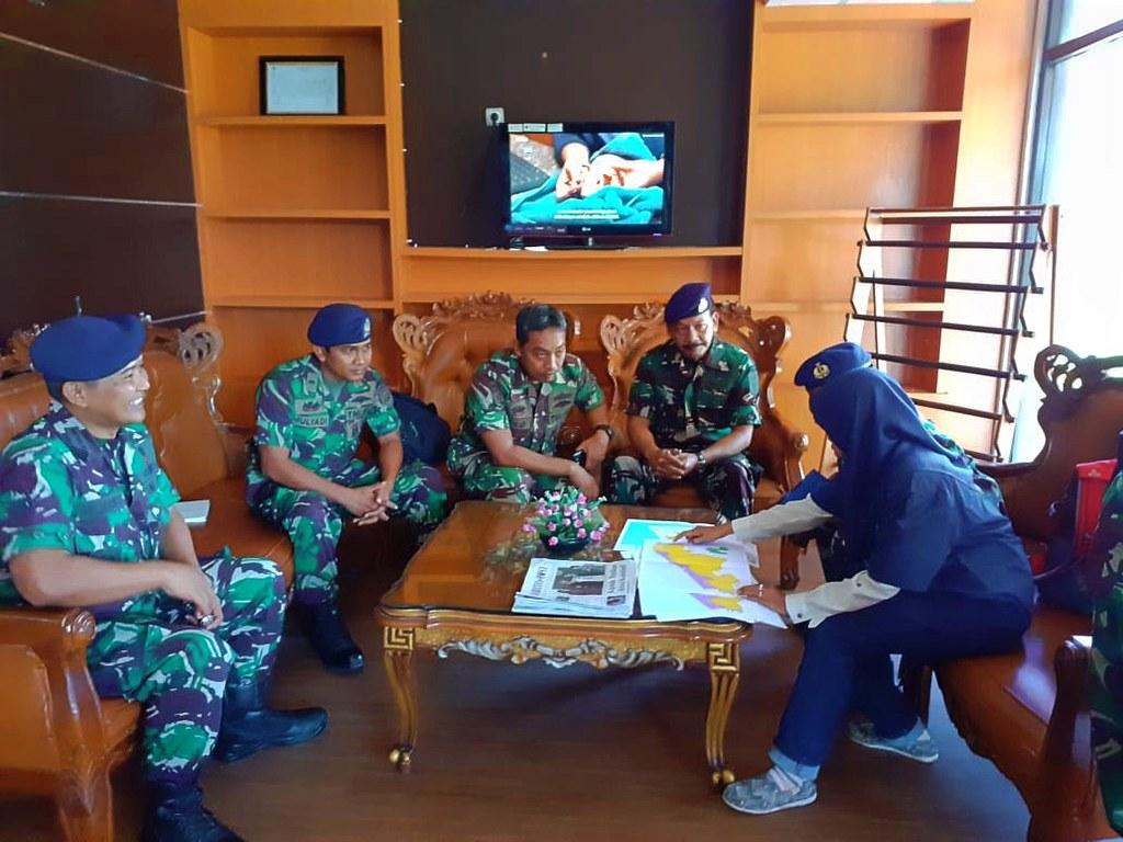 TWA Pelaihari Dukung Pencadangan Latihan TNI AL (01)
