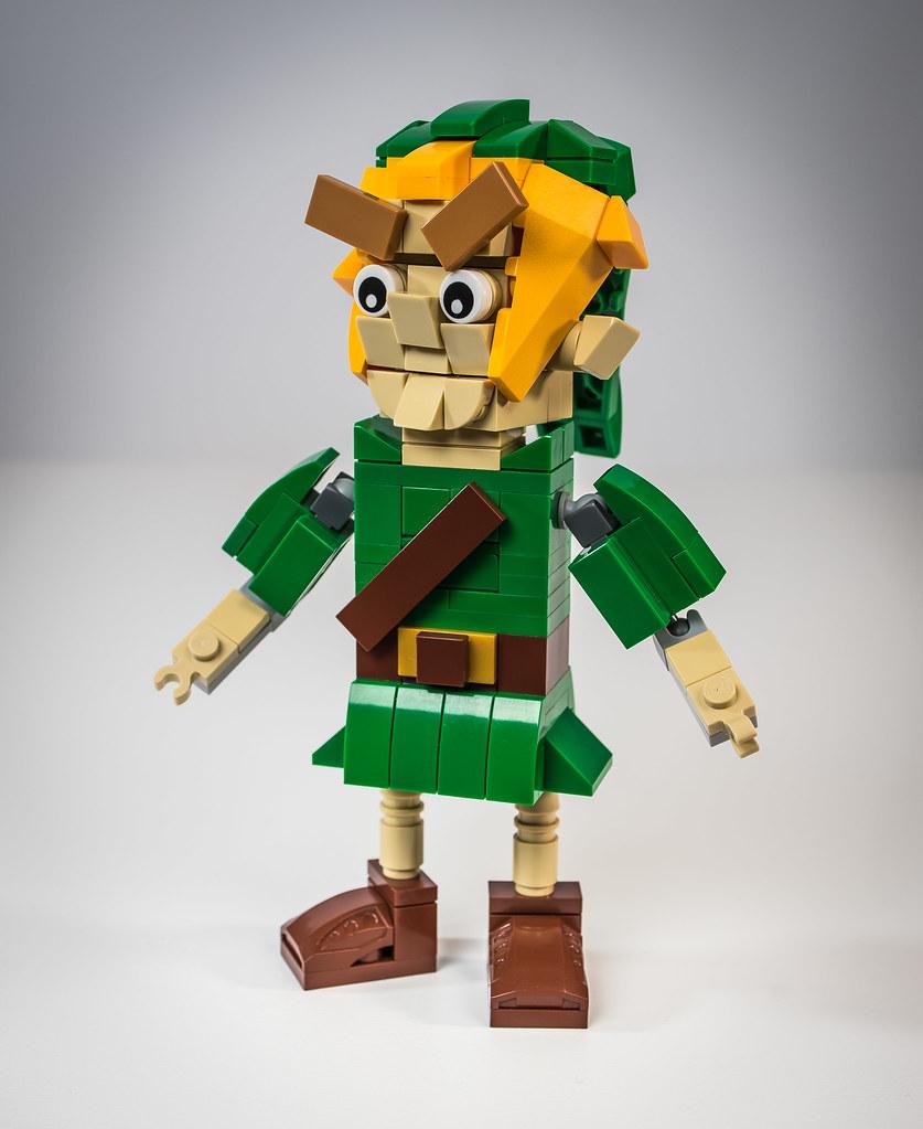 LEGO Link Puppet (custom built Lego model)