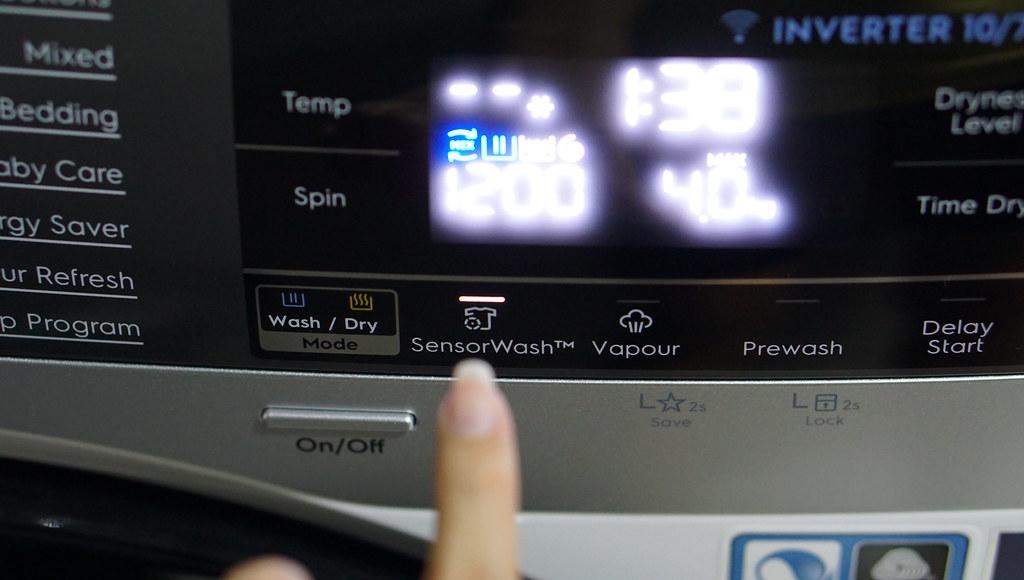 electrolux washing machine