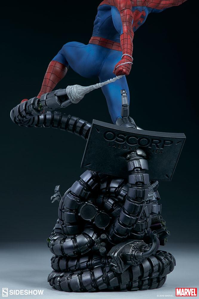 Sideshow Collectibles Premium Format Figure Marvel Comics【蜘蛛人】Spider-Man 1/4 比例全身雕像作品 普通版/EX版