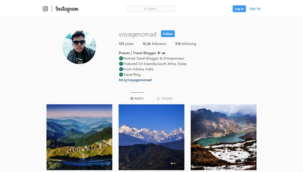 10 Indian Travel Bloggers to Follow On Instagram Right Now | Voyage