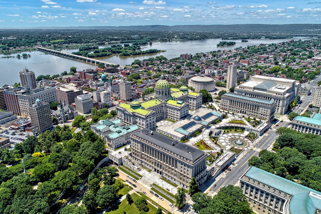 Harrisburg, PA Aerial Photo Shoot