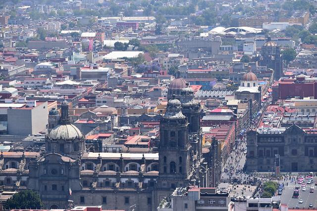 Vista panorámica de la Catedral Metropolitana