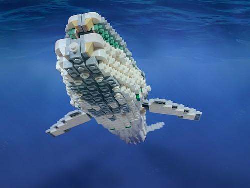 Pick-a-Brick Whale