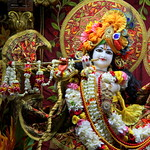 ISKCON Juhu Sringar Deity Darshan on 2nd July 2019