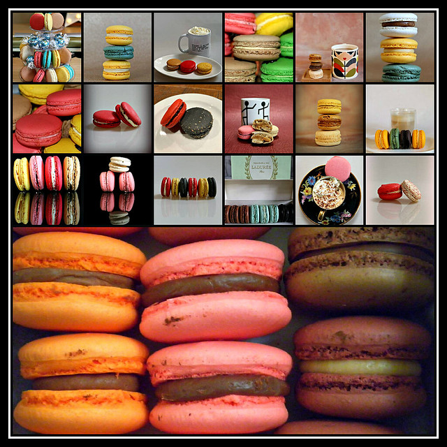 2019 Sydney collage: Macarons
