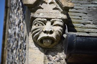 porch gable head