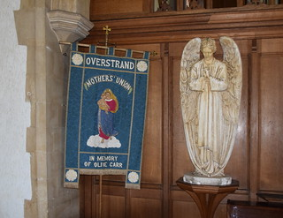 Overstrand Mothers' Union in memory of Olive Carr and angel