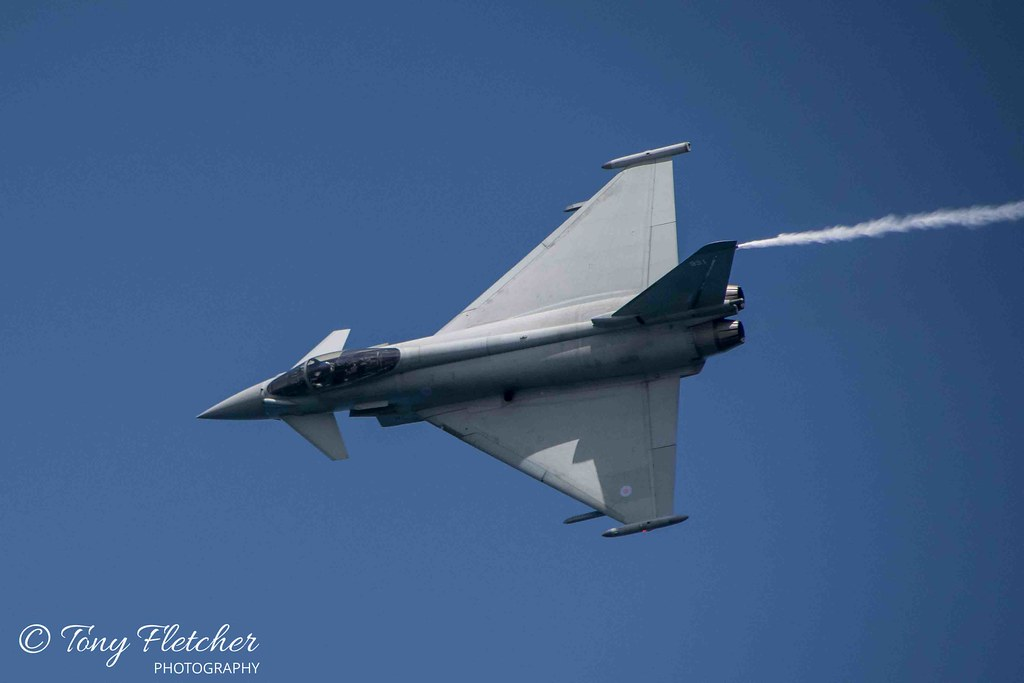 'RAF EUROFIGHTER TYPHOON' -  -'SCARBOROUGH ARMED FORCES DAY'