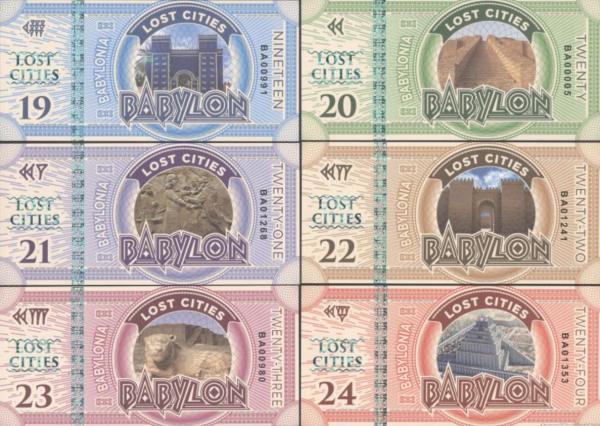 Lost Cities Babylon 19-20-21-22-23-24 2016