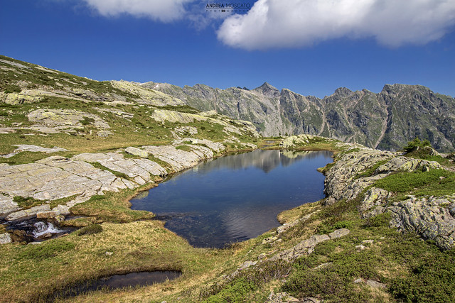 Lago di Variola Medio - Alta Val Bognanco (Italy)