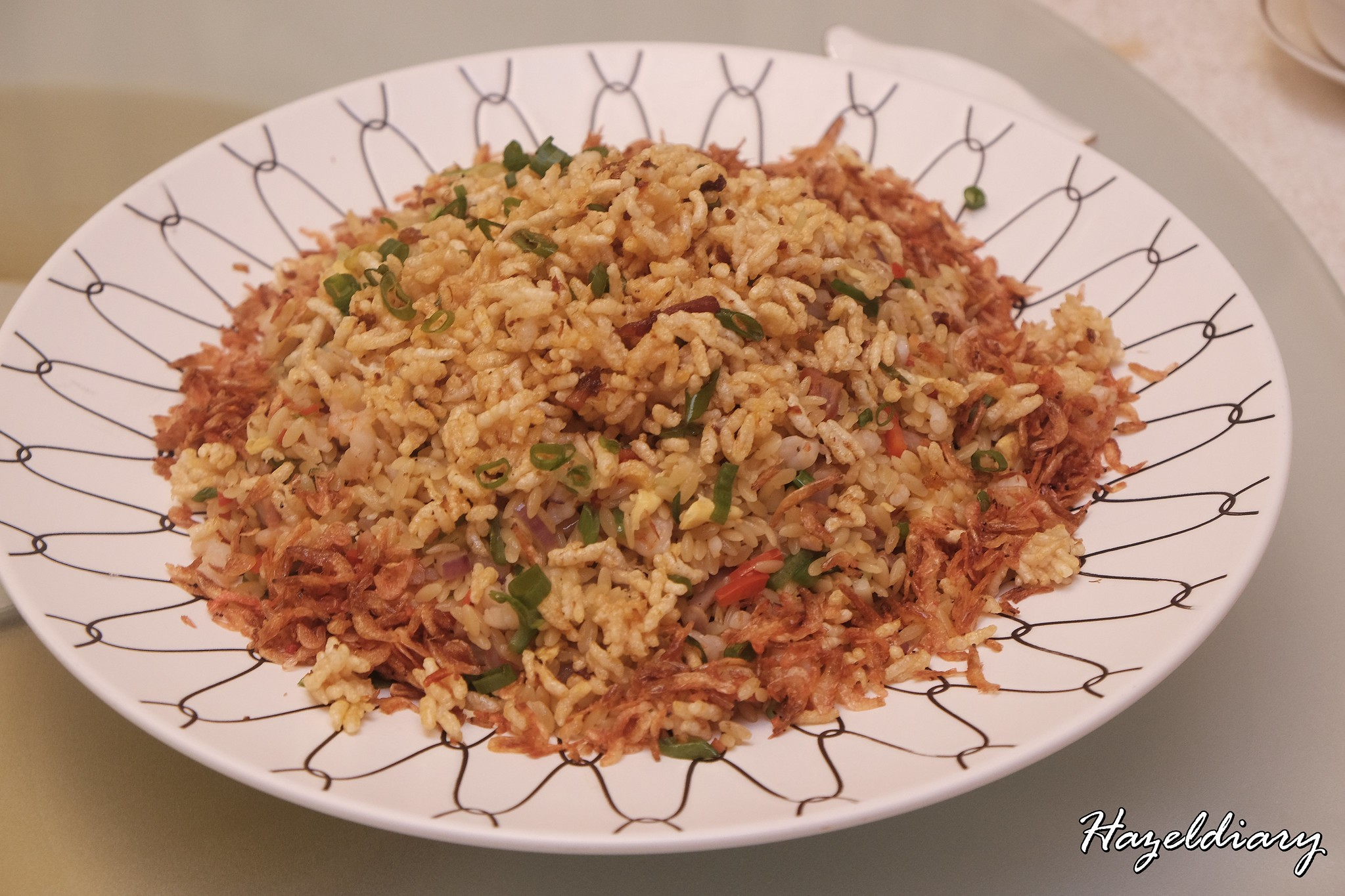 Crystal Jade Palace- Fried Rice with orzo pasta