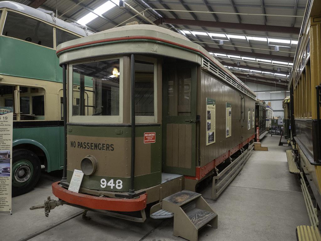 Sydney Prison Tram 948 - built 1909 - see below