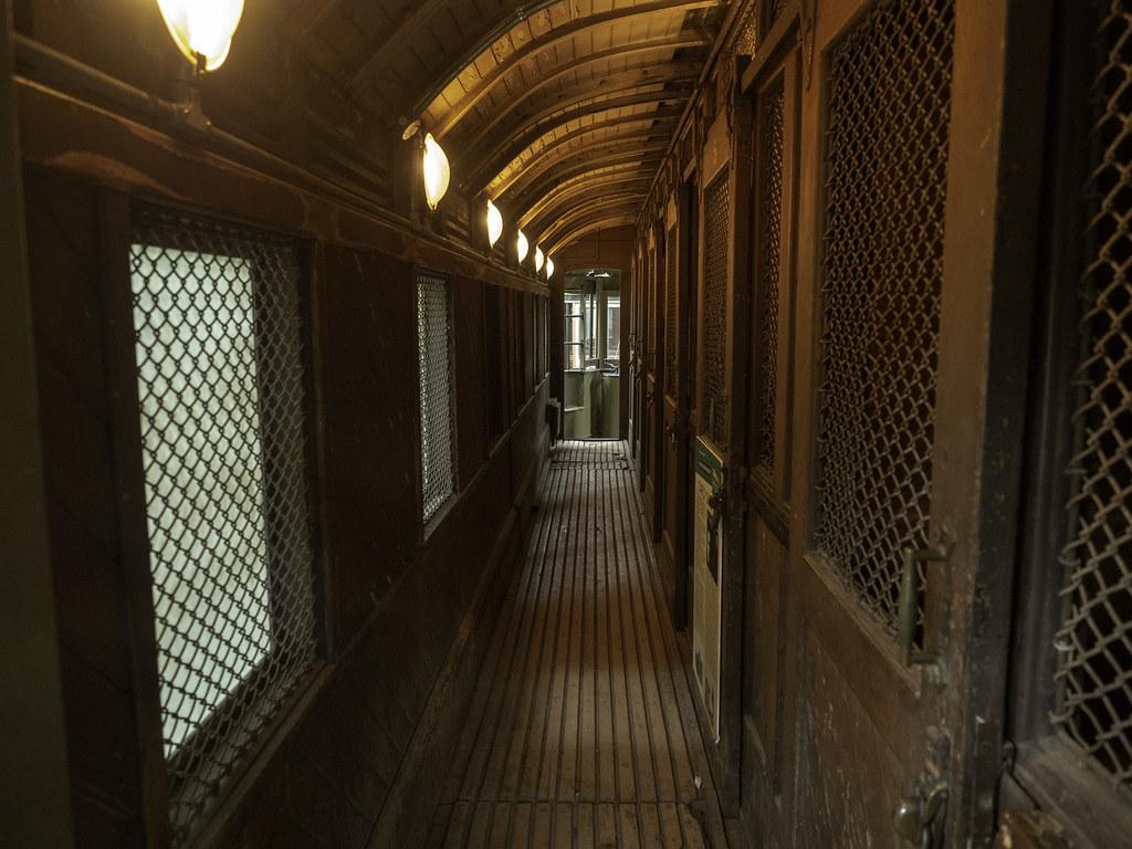 Interior - Sydney Prison Tram 948 - built 1909 - see below