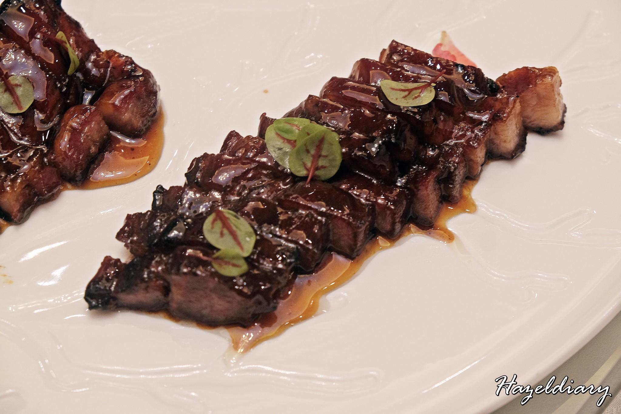 Crystal Jade Palace-Honey BBQ Iberico Pork