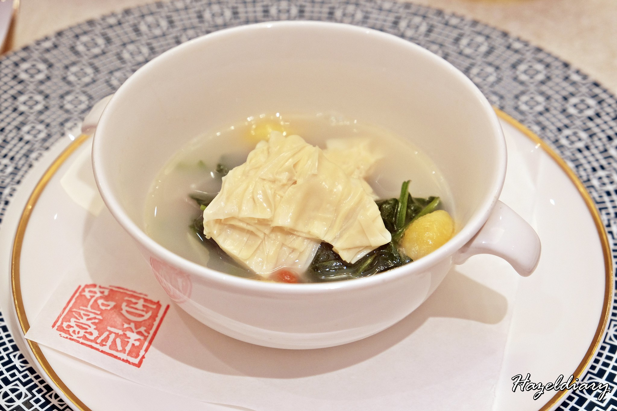 Crystal Jade Palace -Poached Seasonal vegetables
