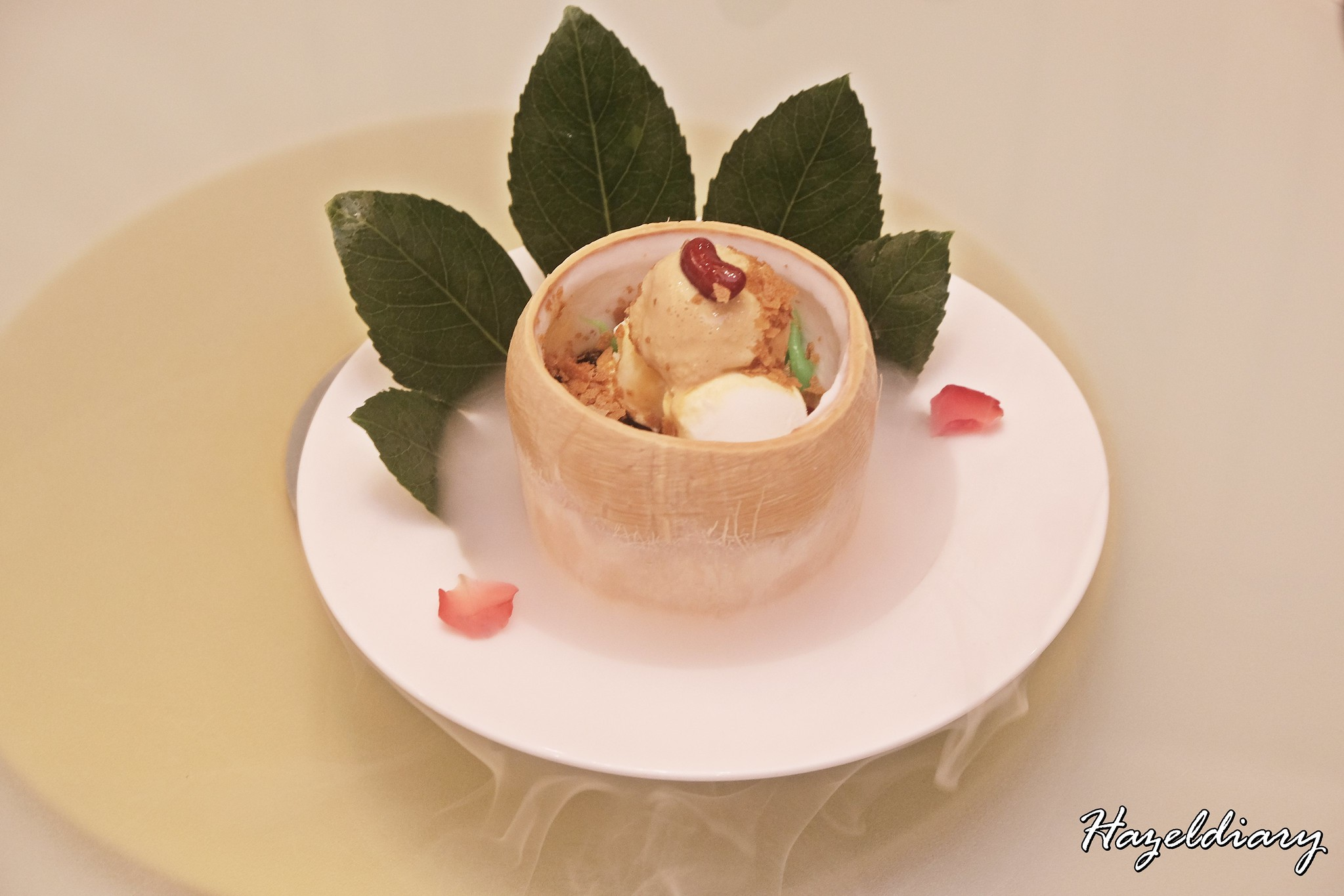 Crystal Jade Palace- Chendol Coconut Ice-cream