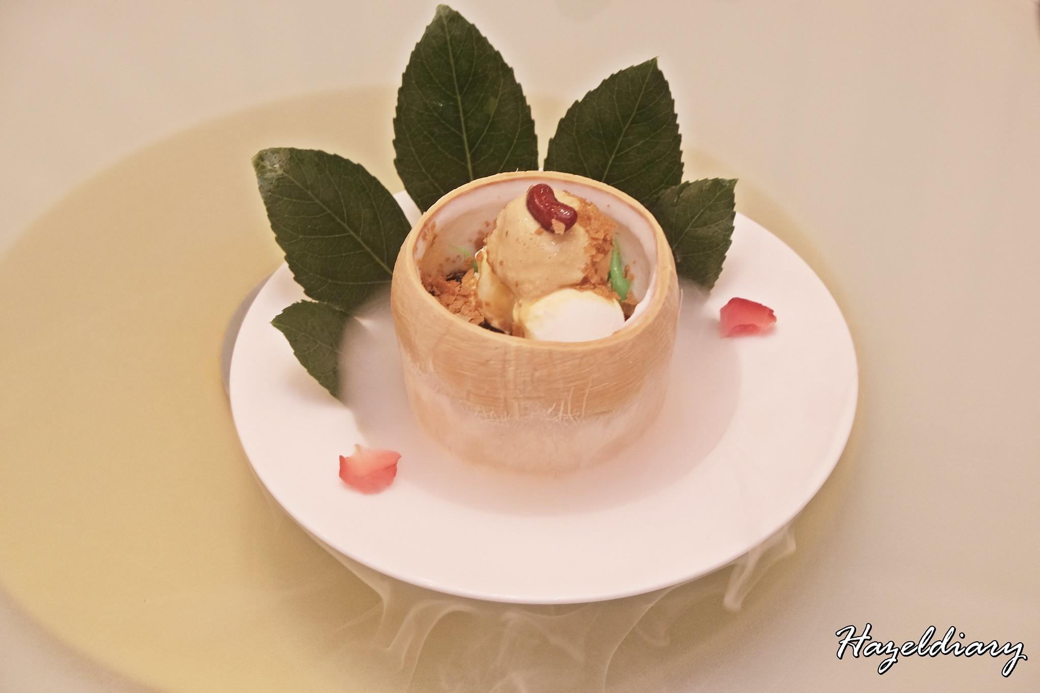 Crystal Jade Palace- Chendol Coconut Ice-cream