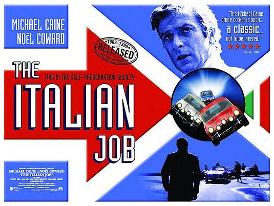 The Italian Job - 1969 - Poster 2