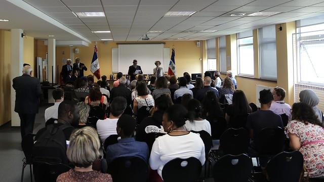 Remise des Trophées du Mérite pour l'exemplarité citoyenne, 1er juillet 2019, Collège Bellefontaine