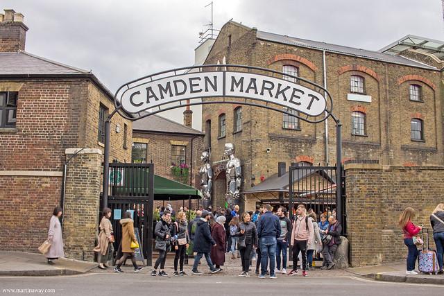 Camden Town, mercati di Londra
