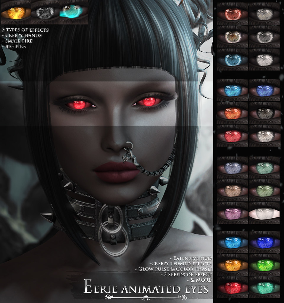 -Elemental- 'Eerie' Eyes Advert @ We <3 RP