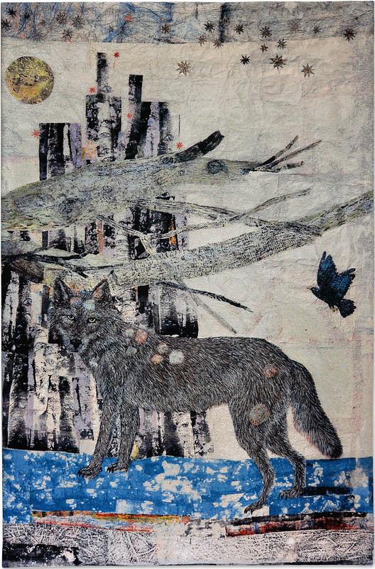 Kiki Smith, Cathedral , 2012. Jacquard tapestry © Kiki Smith